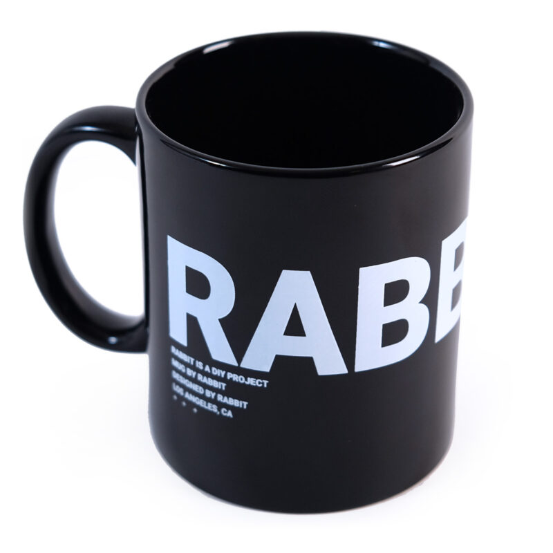 Mug by Rabbit Black