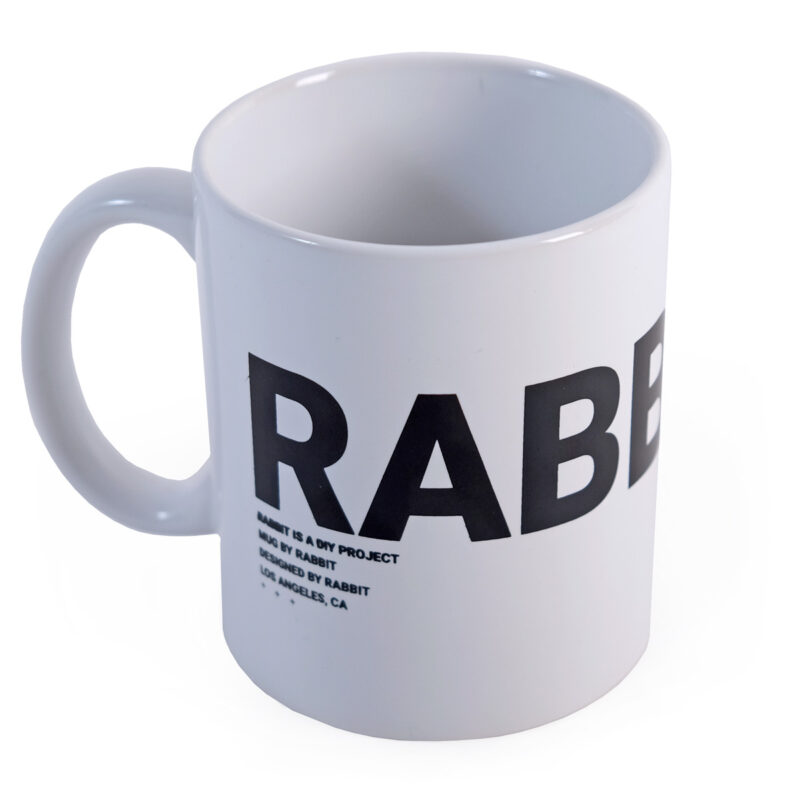 Mug by Rabbit White