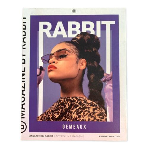 Rabbit Magazine 002 with Gemeaux