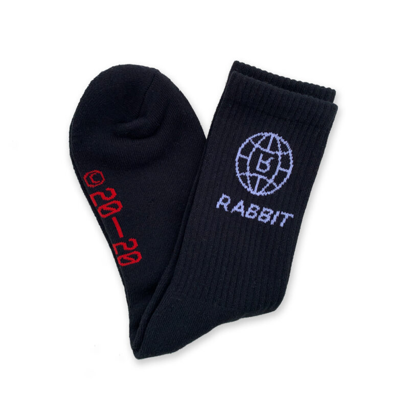 Socks by Rabbit World Black